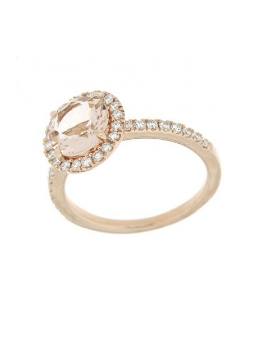 Hulchi Belluni Morganite Ring 48170-RWMO