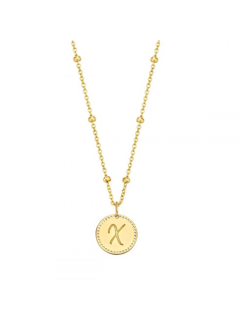 Just Franky Identity Charm Circle Big Perforated m...