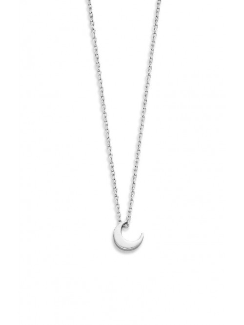 Just Franky Capital Necklace Moon