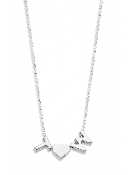 Just Franky Capital Necklace 3 Capitals