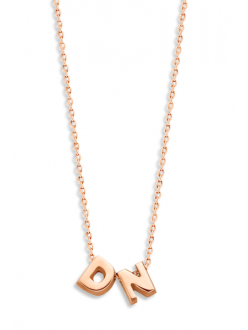 Just Franky Capital Necklace 2 Capitals