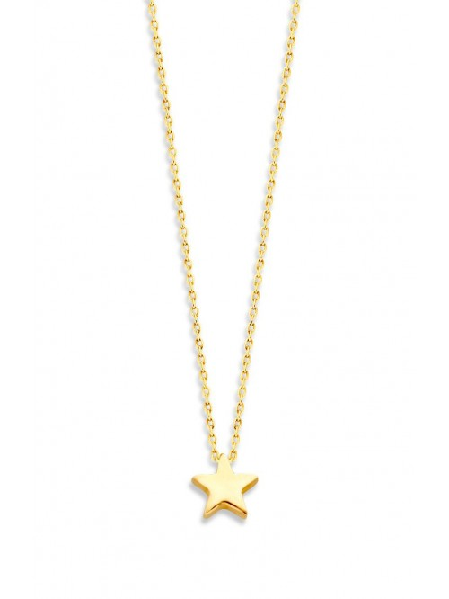 Just Franky Capital Necklace Star