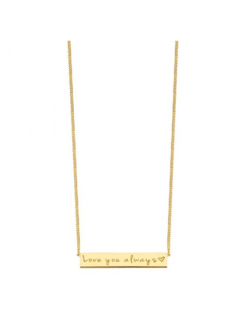 Just Franky Bar Necklace