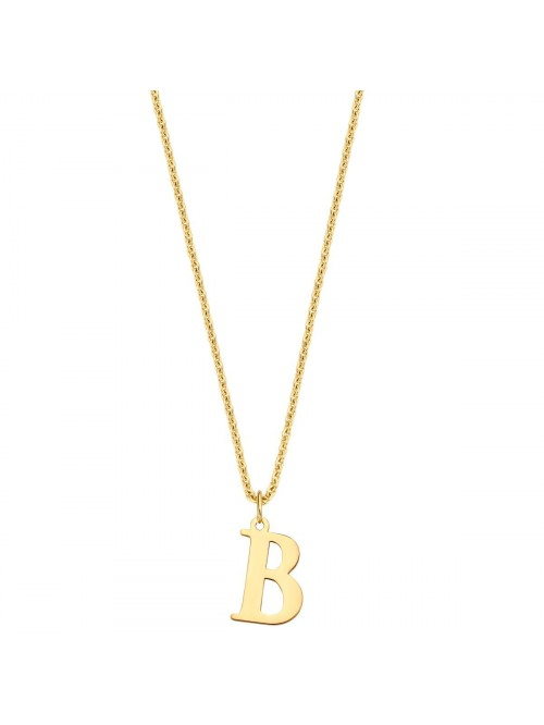 Just Franky Charm Initial XL Necklace