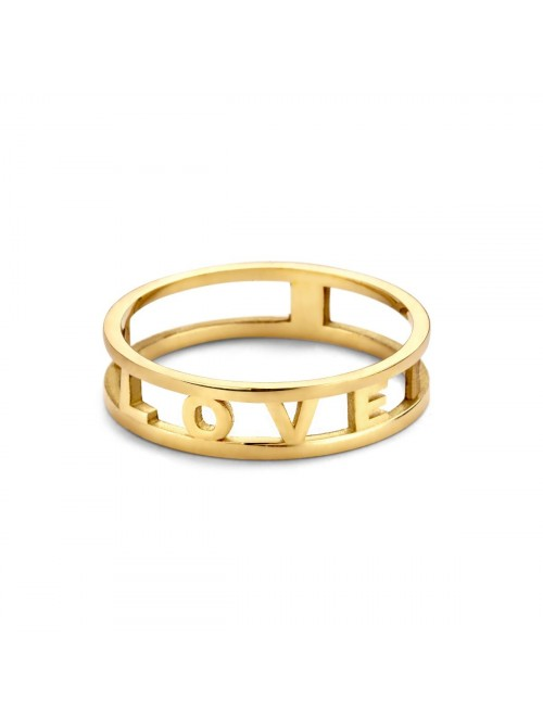 Just Franky Love Letter Ring 2-4 Letters