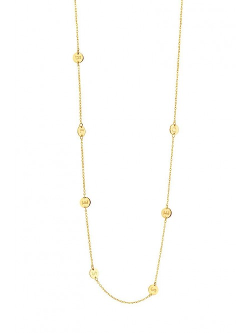 Just Franky Iconic Necklace 7 coins
