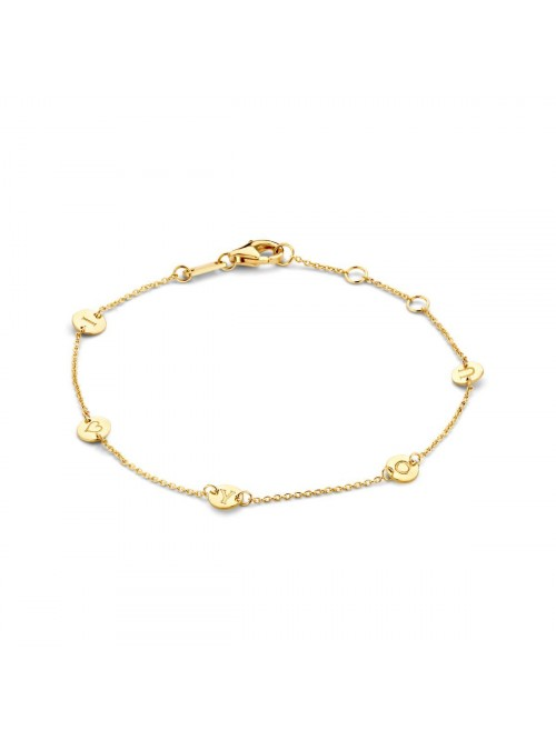Just Franky Iconic Bracelet 5 Coins