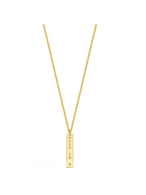 Just Franky Identity Charm Vertical Perforated Bar...