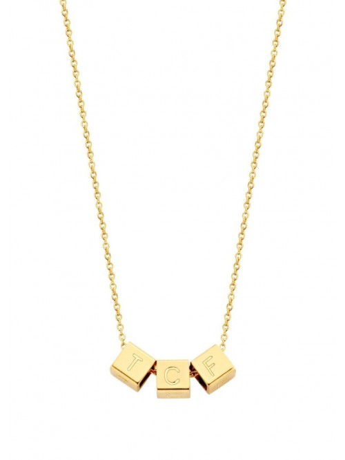 Just Franky Cube ketting 3 cubes