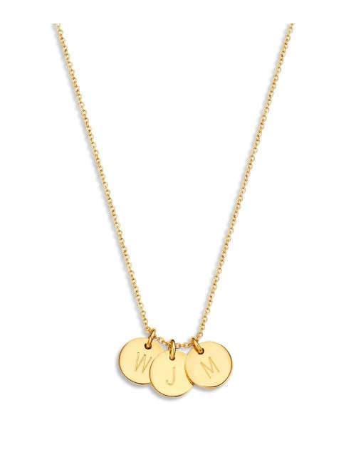 Just Franky Coin Necklace 3 Coins
