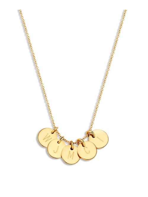Just Franky coin Necklace 5 Coins