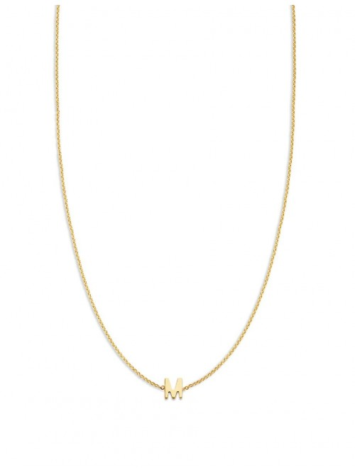 Just Franky Love Letter Necklace 1 Initial