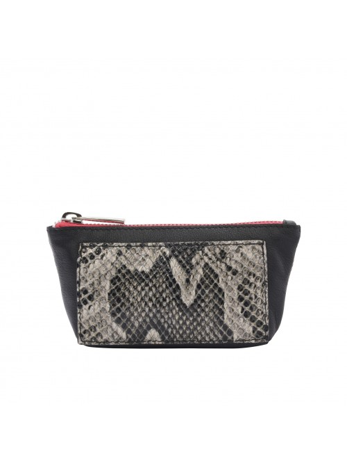 Zippy Wallet Black Python BI-ZY-22