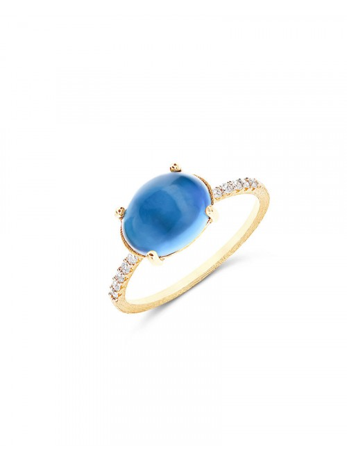 Nanis Dancing Azure Ring AS34-597