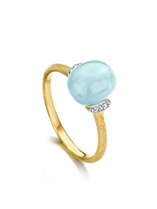 Nanis Dancing In The Rain Aquamarine Ring AS5-575