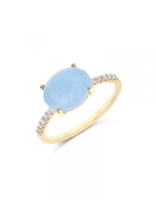 Nanis Dancing Azure Ring AS9-597
