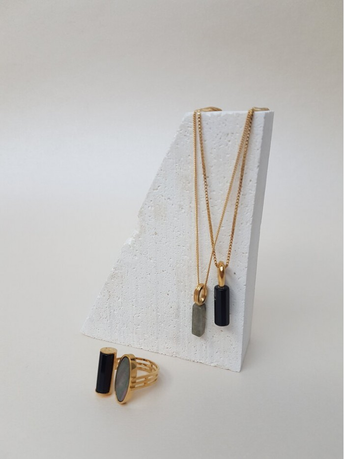 Studio Collect Polychrome Grid Ketting JK5